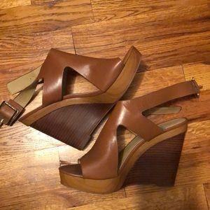 Michael Kors Josephine Wedge Sandal size 9